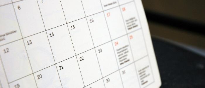 April Contractors Calendar 2017