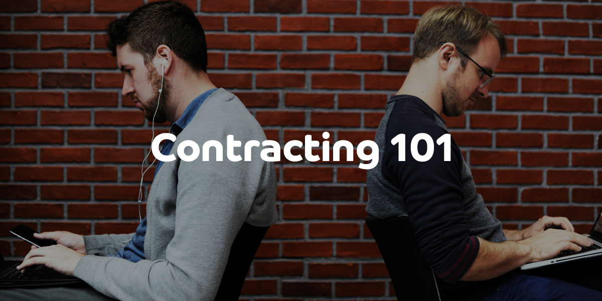 Contracting 101: Becoming a contractor