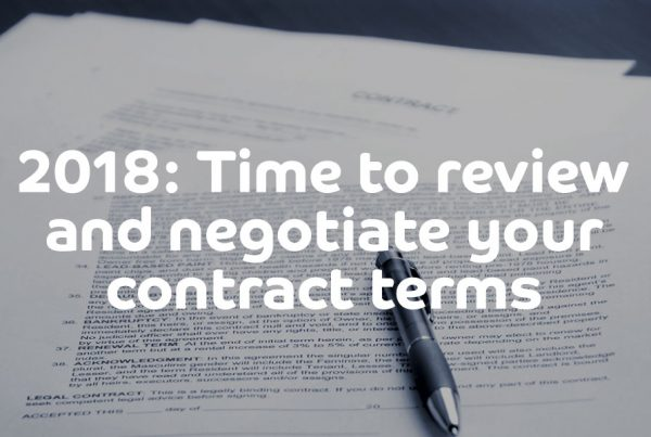 Independent contractor: Review and negotiate contractor terms