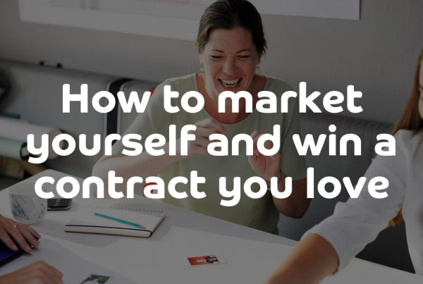 How to market yourself as an independent contractor and win a contract you love - ContractingWISE