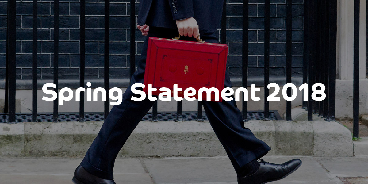 Spring Statement 2018 | ContractingWISE