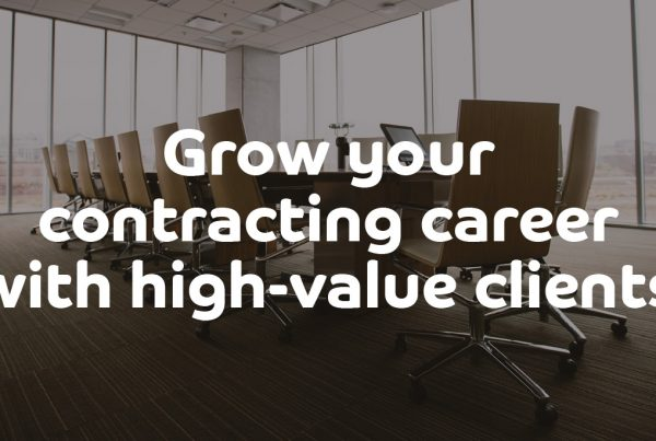 Grow your contracting career with high-value clients - ContractingWISE