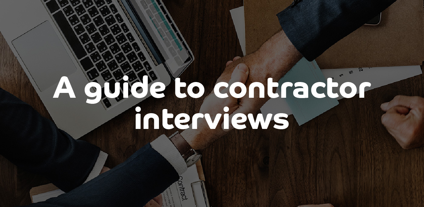 A Guide to Contractor Interviews - ContractingWISE