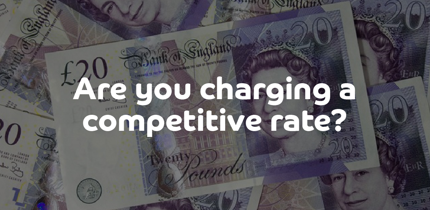 Are you charging a competitive rate? | ContractingWISE