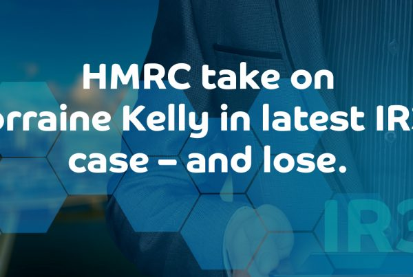 HMRC take on Lorraine Kelly in latest IR35 case – and lose.