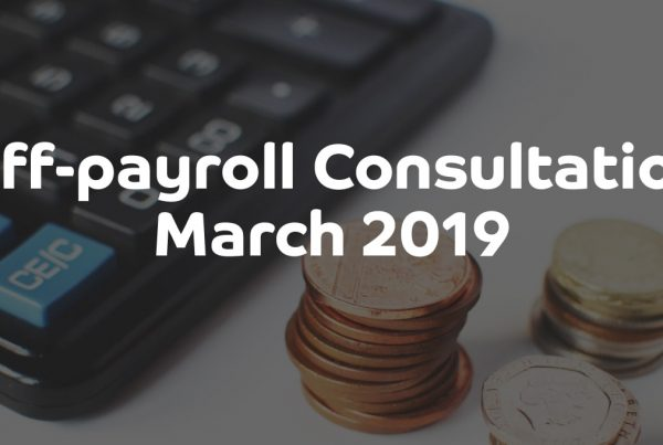 Off-payroll Consultation March 2019