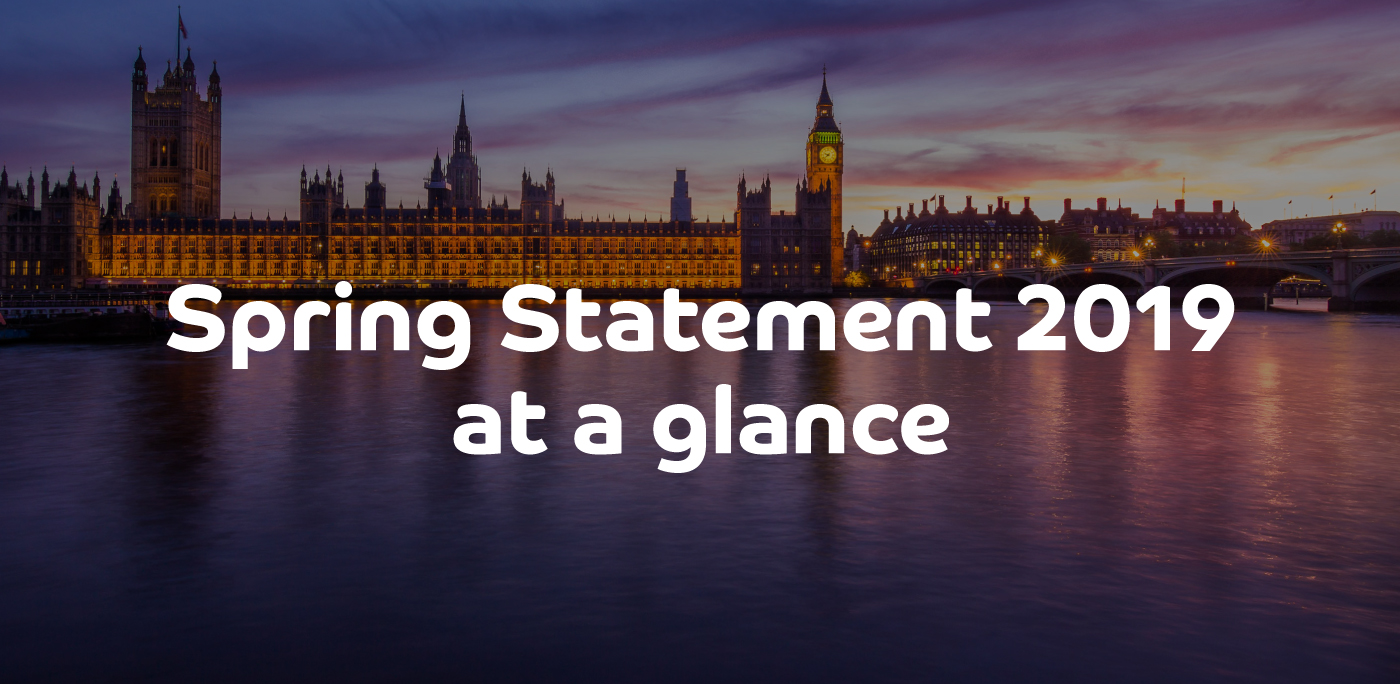 Spring Statement at a glance